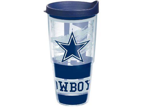 Dallas Cowboys Tervis Tumbler NFL 24oz Wrap with Lid