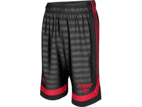Chicago Bulls adidas NBA Youth Groove Hoops Short