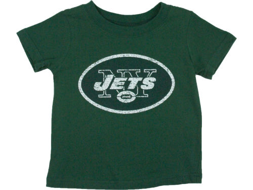 New York Jets Outerstuff NFL Toddler Distressed Logo T-Shirt