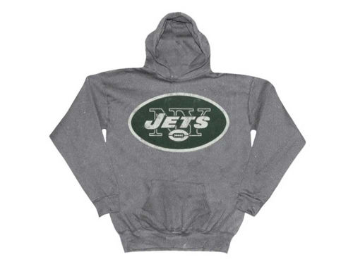 New York Jets Outerstuff NFL Toddler Distressed Logo Hoodie