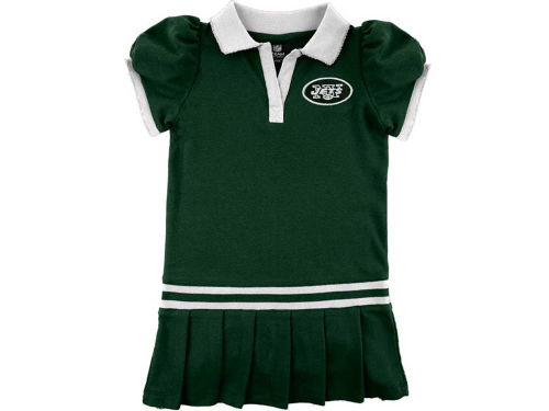 New York Jets Outerstuff NFL Toddler Polo Dress