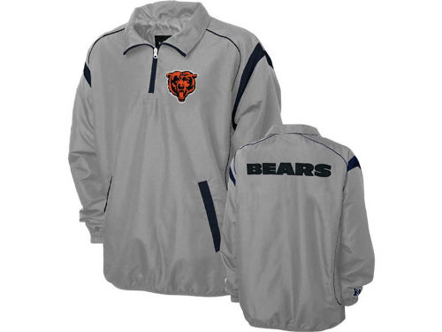 Chicago Bears GIII NFL Red Zone 1/4 Zip Jacket