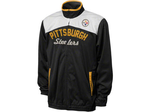 Pittsburgh Steelers GIII NFL MVP Track Jacket