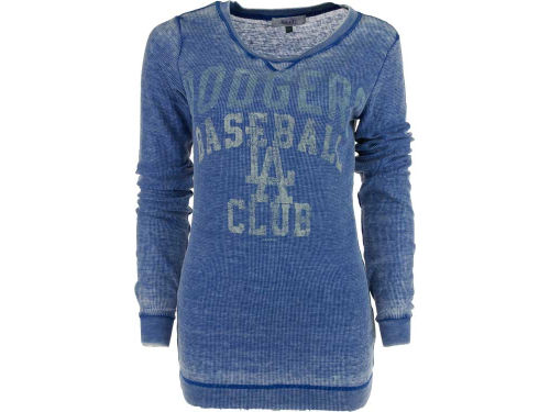 Los Angeles Dodgers GIII MLB Womens Redzone Burnout Thermal