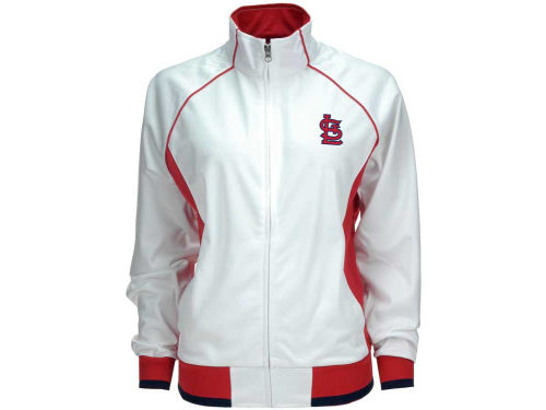 St. Louis Cardinals GIII MLB Womens Sprint Full Zip Track Jacket