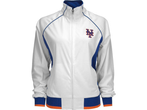New York Mets GIII MLB Womens Sprint Full Zip Track Jacket