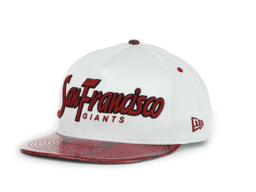 San Francisco Giants New Era MLB Red Mamba 9FIFTY Strapback Hats