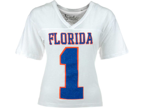 Florida Gators NCAA Womens Xena Crop T-Shirt