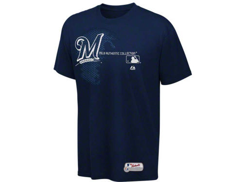 Milwaukee Brewers Profile MLB AC Change Up T-Shirt 3X-4X