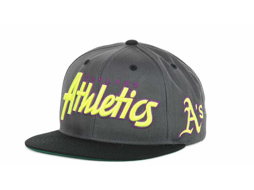 Oakland Athletics '47 Brand MLB Retro Script Snapback Cap Hats