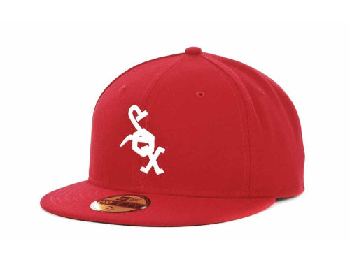 Chicago White Sox New Era MLB 2012 Turn Back The Clock 59FIFTY Hats