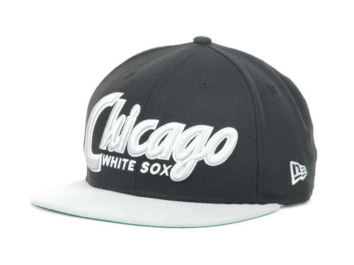 Chicago White Sox New Era MLB Snap It Back 9FIFTY Snapback Hats