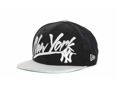 New York Yankees MLB Retro Word 9FIFTY Snapback Hats