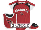 Arizona Cardinals Outerstuff NFL Newborn Creeper, Bib, Bootie Set Infant Apparel