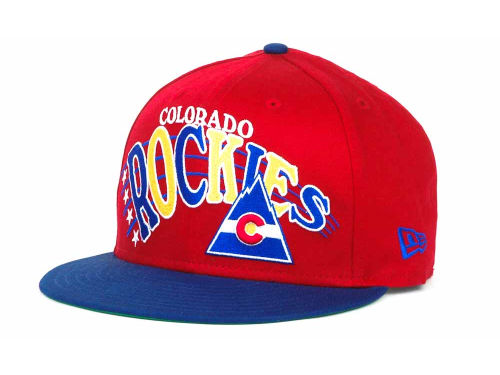Colorado Avalanche New Era NHL Stardon 9FIFTY Snapback Hats