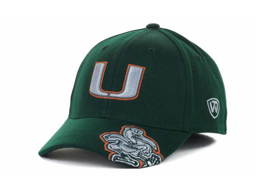 Miami Hurricanes Top of the World NCAA All Access Cap Hats