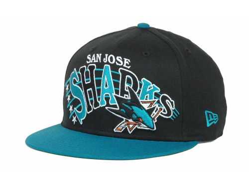 San Jose Sharks New Era NHL Stardon 9FIFTY Snapback Hats