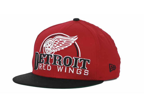 Detroit Red Wings New Era NHL Big Deluxe 9FIFTY Snapback Hats