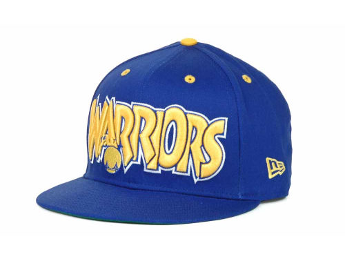 Golden State Warriors New Era NBA Hardwood Classics Big Man 9FIFTY Snapback Hats