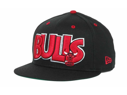 Chicago Bulls New Era NBA Hardwood Classics Big Man 9FIFTY Snapback Hats