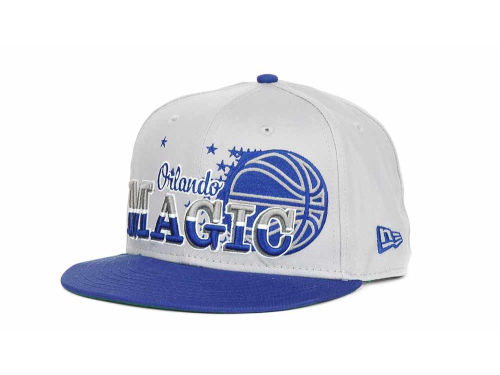 Orlando Magic New Era NBA Hardwood Classics Splitier 9FIFTY Snapback Hats