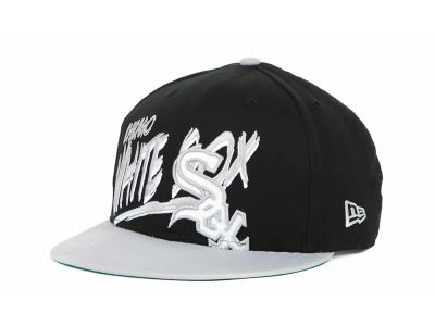 Chicago White Sox MLB Scribbs 9FIFTY Snapback Hats