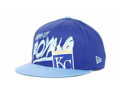 Kansas City Royals MLB Scribbs 9FIFTY Snapback Hats