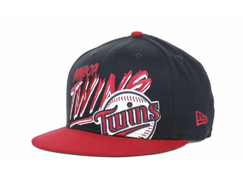 Minnesota Twins New Era MLB Scribbs 9FIFTY Snapback Hats
