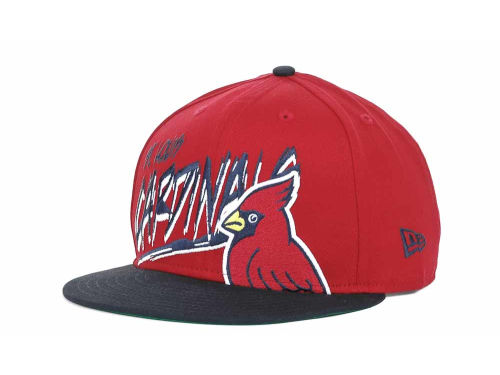 St. Louis Cardinals New Era MLB Scribbs 9FIFTY Snapback Hats