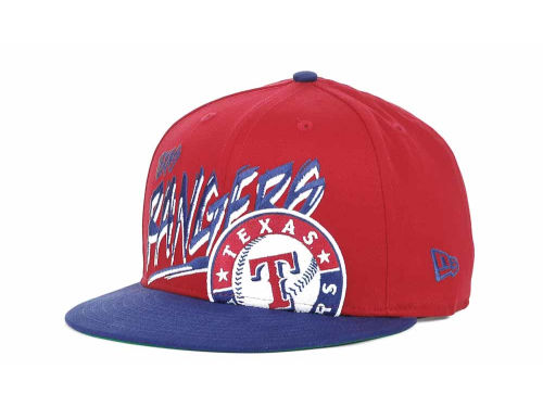 Texas Rangers New Era MLB Scribbs 9FIFTY Snapback Hats