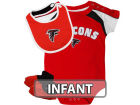Atlanta Falcons Outerstuff NFL Infant Creeper Bib & Bootie Set Infant Apparel
