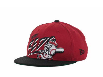 Cincinnati Reds MLB Youth Scribbs 9FIFTY Snapback Hats
