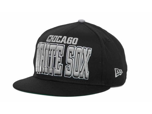 Chicago White Sox New Era MLB Solid 9FIFTY Snapback Hats