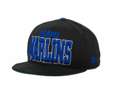 Miami Marlins MLB Solid 9FIFTY Snapback Hats