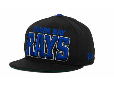 Tampa Bay Rays MLB Solid 9FIFTY Snapback Hats