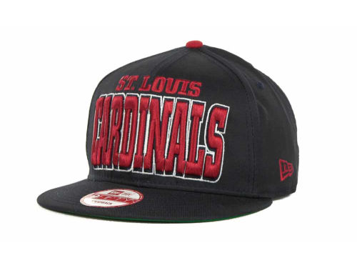 St. Louis Cardinals New Era MLB Solid 9FIFTY Snapback Hats