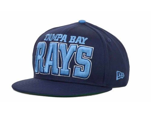 Tampa Bay Rays New Era MLB Solid 9FIFTY Snapback Hats