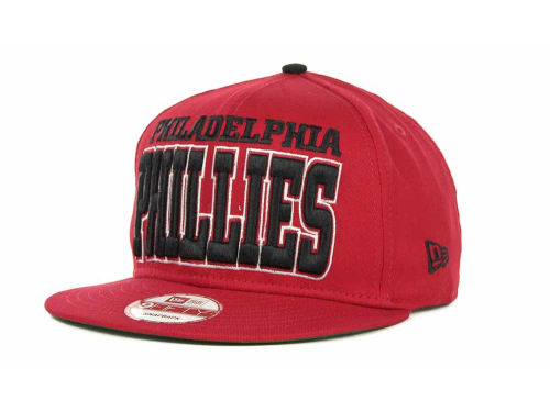 Philadelphia Phillies New Era MLB Solid 9FIFTY Snapback Hats