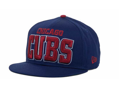 Chicago Cubs MLB Solid 9FIFTY Snapback Hats