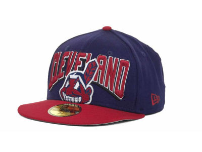 Cleveland Indians MLB New Arch 59FIFTY Hats