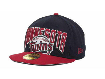 Minnesota Twins MLB New Arch 59FIFTY Hats