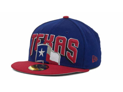 Texas Rangers MLB New Arch 59FIFTY Hats