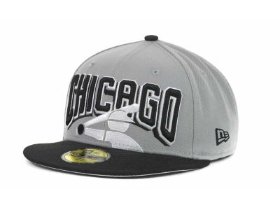 Chicago White Sox MLB New Arch 59FIFTY Hats