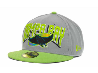 Tampa Bay Rays MLB New Arch 59FIFTY Hats