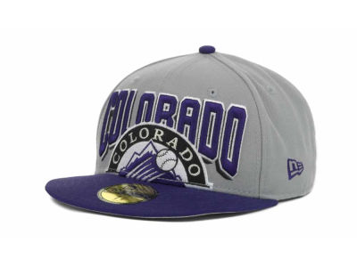 Colorado Rockies MLB New Arch 59FIFTY Hats