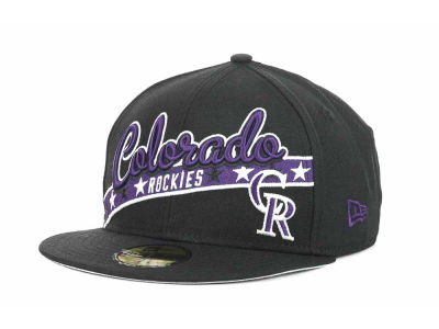 Colorado Rockies MLB Retro Star 59FIFTY Hats