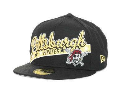 Pittsburgh Pirates MLB Retro Star 59FIFTY Hats