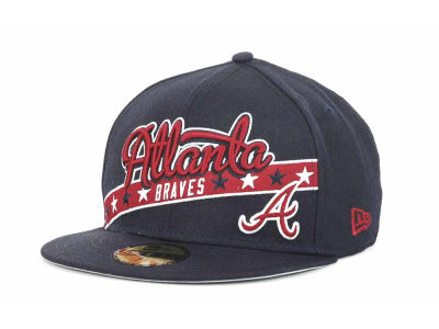 Atlanta Braves MLB Retro Star 59FIFTY Hats