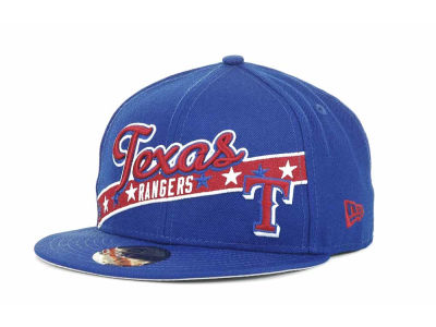 Texas Rangers MLB Retro Star 59FIFTY Hats