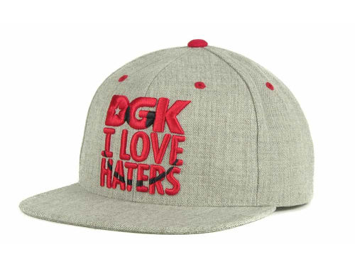 DGK Smiley Snapback Cap Hats
